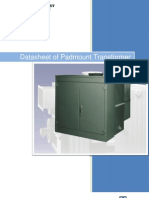Datasheet of Padmount Transformer
