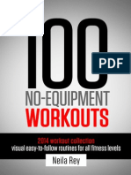 100 No Equipment Workouts 2014 by Neilarey
