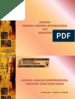 AKAYESU Primera Condenal Penal Internacional en Genocidio