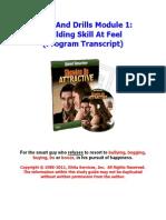 01 - Building Skill at Feel