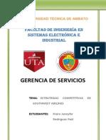 ESTRATEGIAS COMPETITIVAS DE SOUTHWEST AIRLINES.docx