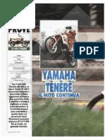 Prova Motociclismo Yamaha_XT600Z 3aj 88 WKF