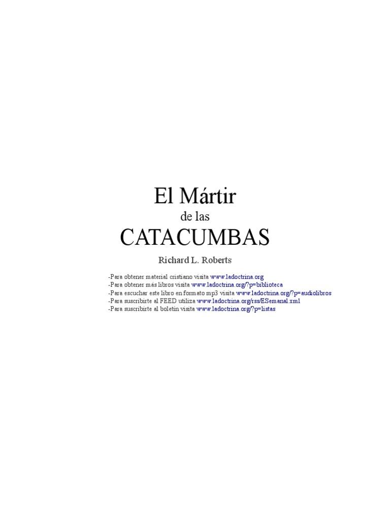 el mártir de las catacumbas pdf gratis
