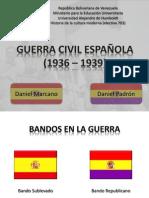 Presentación Guerra Civil Española