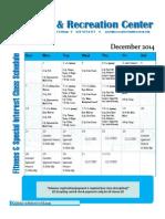Wellness and Recreation Center December 2014