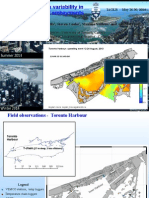 Thermal Variability In Toronto Harbour