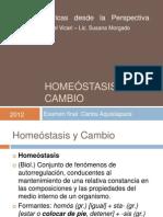 Homeostasis y Cambio