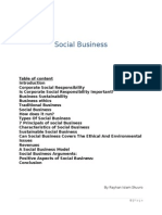 Assingment on Social Business