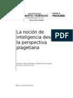 La noción de inteligencia desde la perspectiva piagetiana