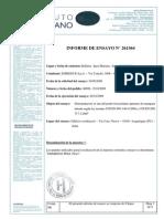 Istituto Giordano Pruebas Acusticas Pared Interior PDME150