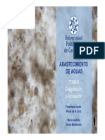 coagulacion y floculacion en aguas residuales