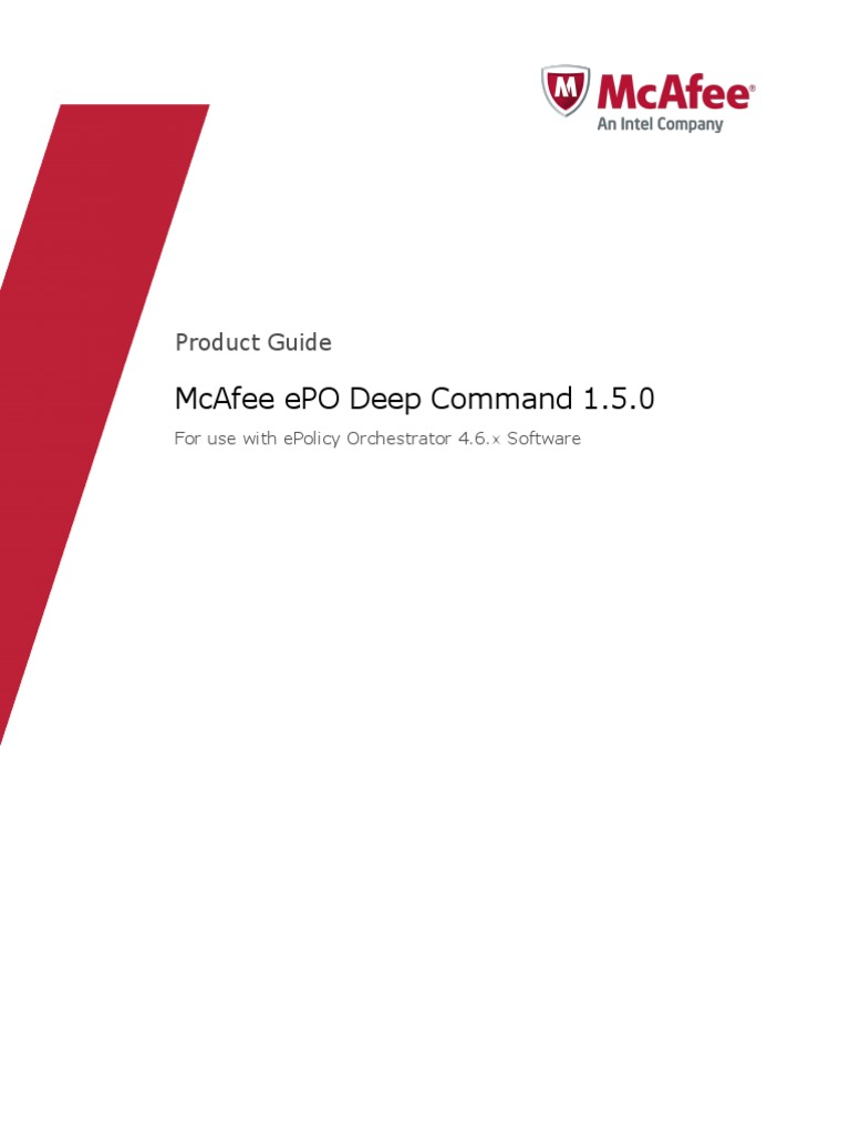 Epo deep command 150 product guide transport layer security epo deep command 150 product guide transport layer security public key certificate 1betcityfo Gallery