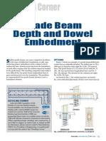 Detailing Corner-Grade Beam
