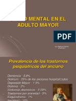 Salud Mental Adulto Mayor Prevalencia
