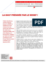 La Sncf Presidee Par Le Medef!
