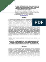 91241019 Estudio Del Comportamiento de Sb2S3 SULFURO de ANTIMONIO Durante Su Tostacion