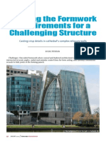 Meeting the Formwork Requirements for a Challenging Structure