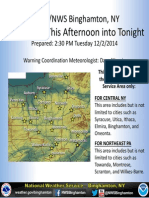 National Weather Service public briefing