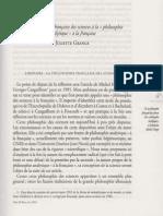 Juliette Grange Philosophie Analytique a la francaise