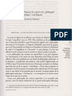 Juliette Grange Philosophie Analytique a la francaise