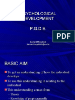 Psychological Development p.g.d.e.