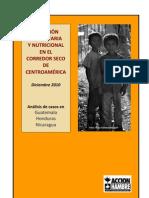 Situación alimentaria y Nutricional en el Corredor Seco de Centroamérica