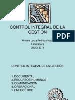 Control Integral de Gestión