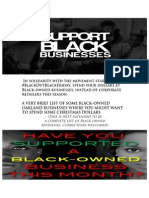 SUPPORT OAKLAND BLACK BUSINESSES