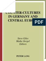 Counter-Cultures in Germany an Central Europe_From Sturm Und Drang to Baader-Meinhof (2003)