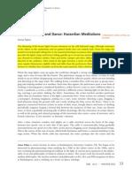 Phenomenology and Danc. Husserlian Meditations