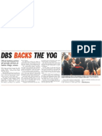 DBS official banking partner of YOG, 8 Sep 2009, Straits Times