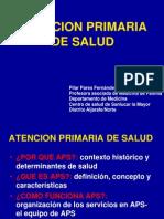 Atencion Primaria de Salud. Clase 3