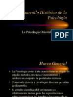 1.- Desarrollo Histórico (1)de La Psicología ORIENTE Clase 1