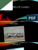 Memories of Lumen Christi