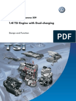 1.4l TSI Engine with Dual-charging