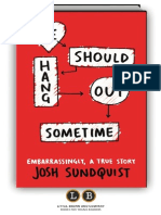 We Should Hang Out Sometime by Josh Sundquist (Preview)
