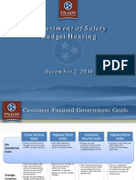 TN Department of Safety budget proposal