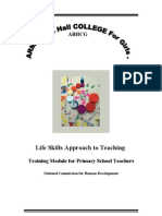 Teachers Training Module for PSTs