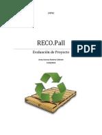 Reco.pall Ramirez 131014 Evaluacion de Proyectos