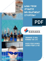 Swimming Canada Planning Long Term