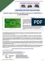 Tutorial Microcontroladores Pic Manejo de Datos en La Eeprom Microcontrolador Pic Punto Flotante s.A