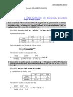 Problemas Tema 5. Equilibrio Químico