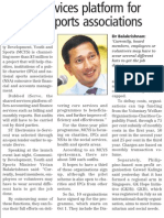 Charities to get help with accounting from iServe, 11 Sep 2009, Business Times