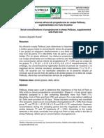 Concentraciones Séricas de Progesterona en Ovejas Pelibuey