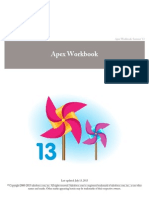 Apex Workbook (Salesforce)