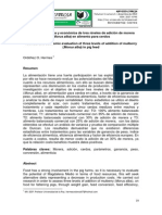 Evaluación Técnica y Económica de Adición de Morera (Morus Alba) para Cerdos