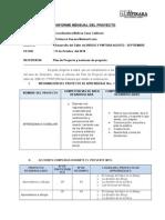 Informes Mensual Pro Nino 2014-2