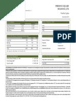 Performance Report November 2014