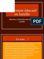 Placement Educatif a Domicile