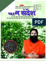 Yog Sandesh August-09 (Hindi)